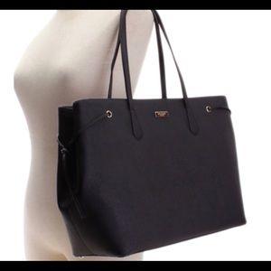 Kate Spade Black Ari Laurel Way Leather Tote